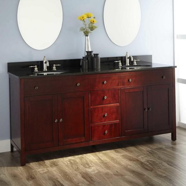 72 Bathroom Vanity Double Sink Home Depot