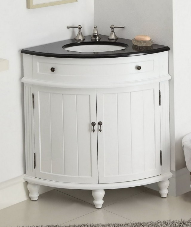 Bathroom Corner Vanity Cabinets