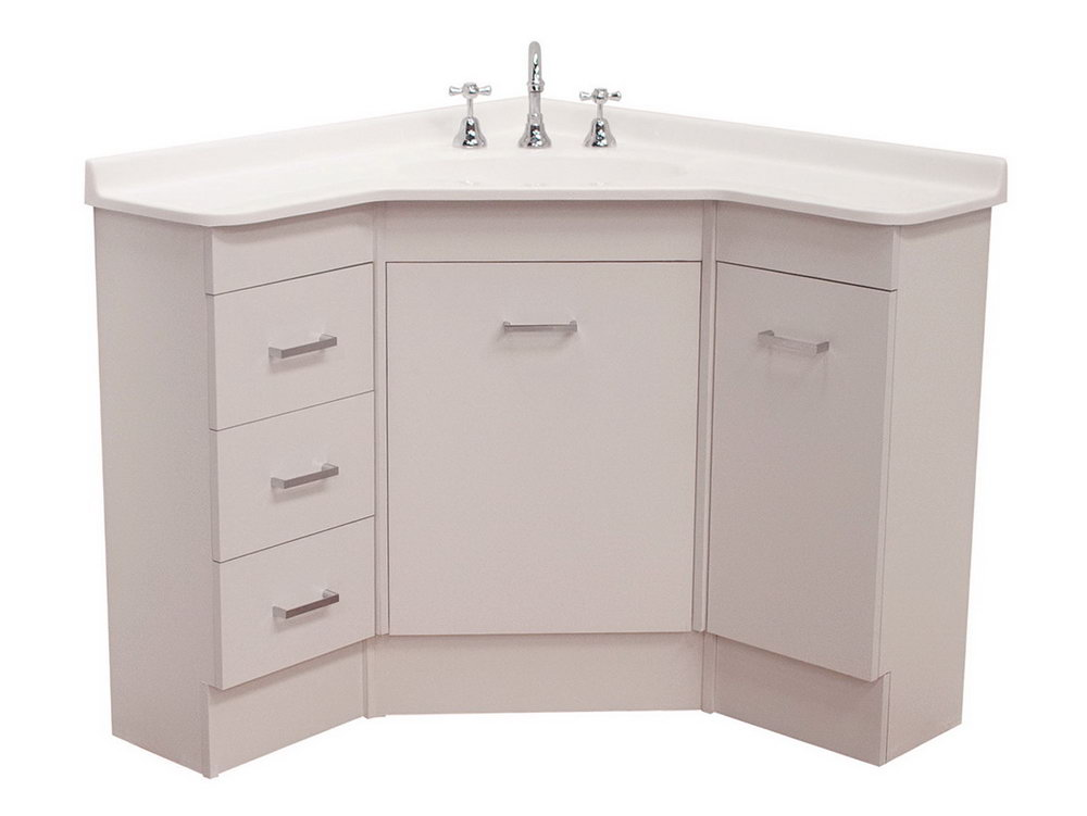 Bathroom Corner Vanity Unit