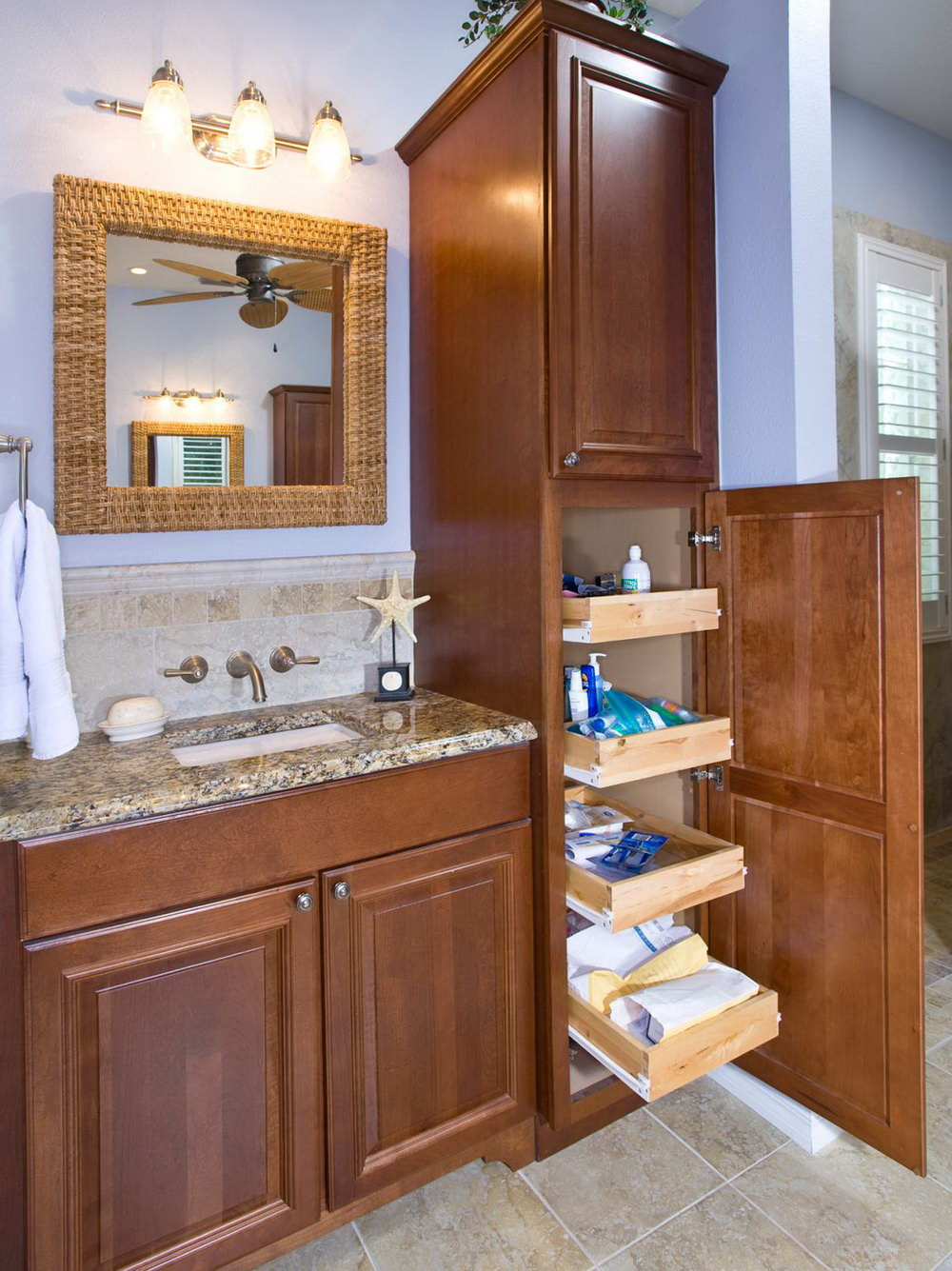 Bathroom Vanity With Storage
