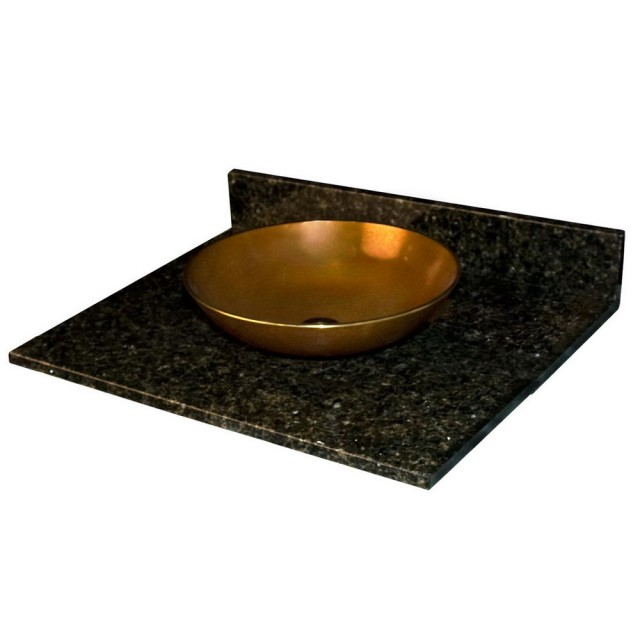 Black Granite Bathroom Vanity Tops