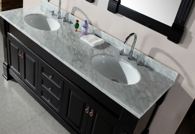 Carrera Marble Vanity Top With Sink