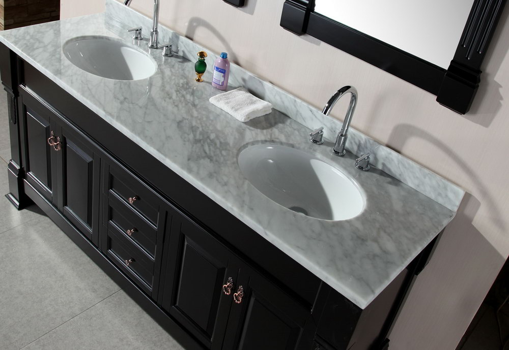 Carrera Marble Vanity Top With Sink