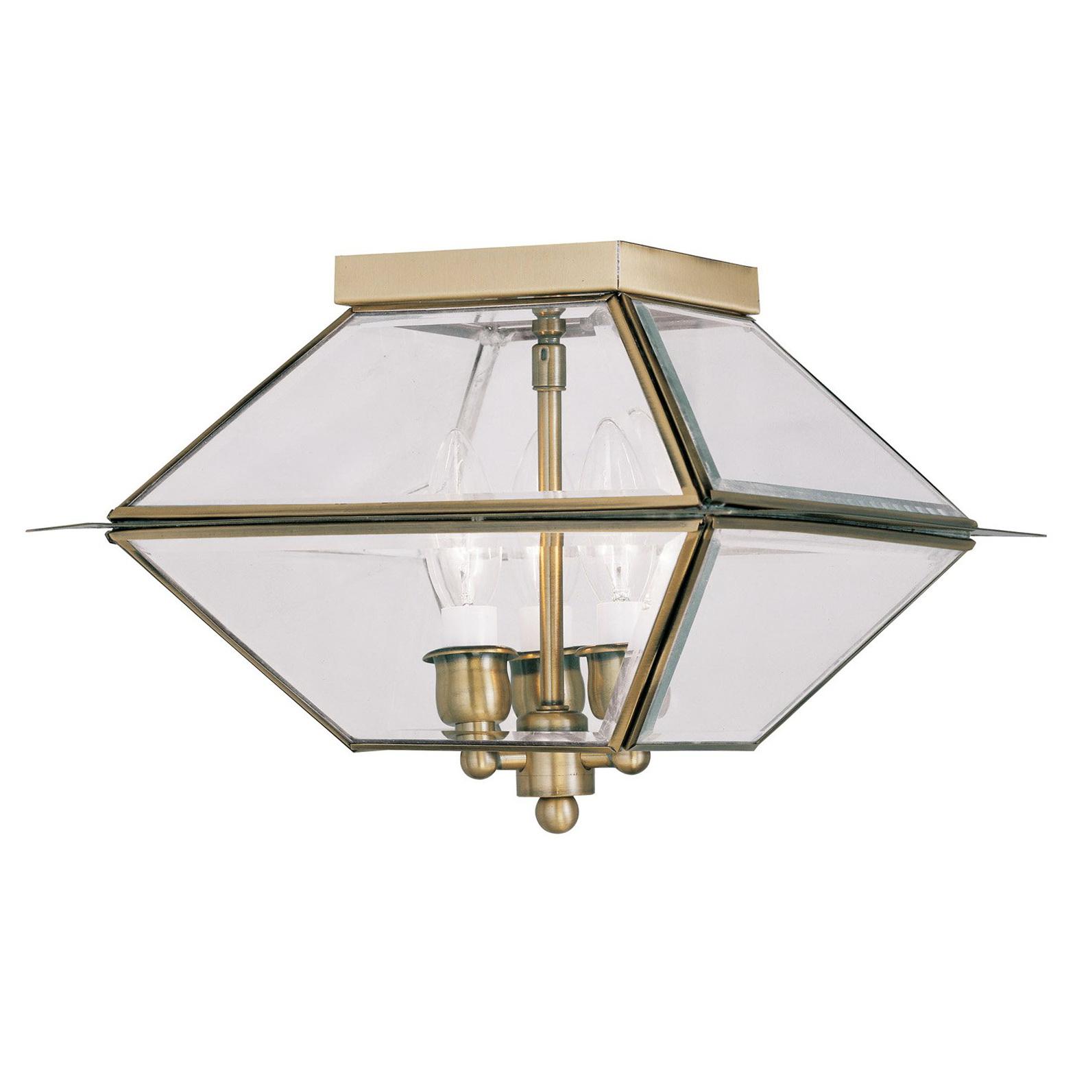 Ceiling Porch Light With Sensor