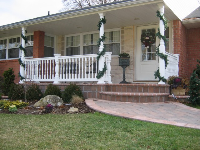 Colonial Style Porch Columns