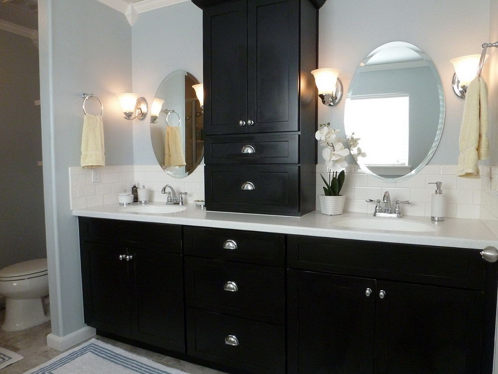 Colors To Paint Bathroom Vanity