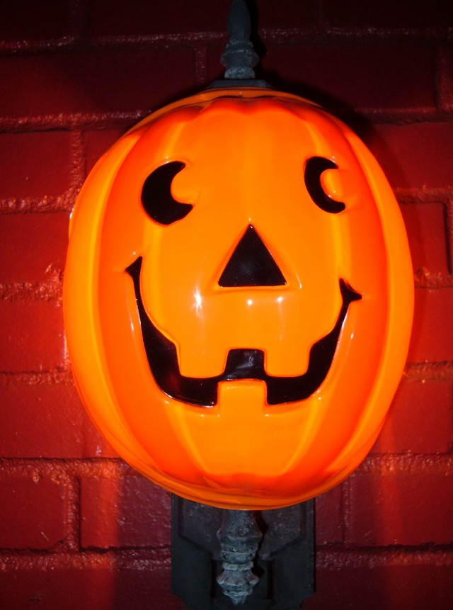 Jack O Lantern Porch Light Covers