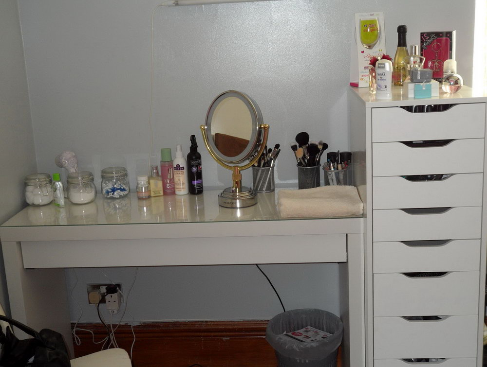 Makeup Vanity With Drawers Ikea