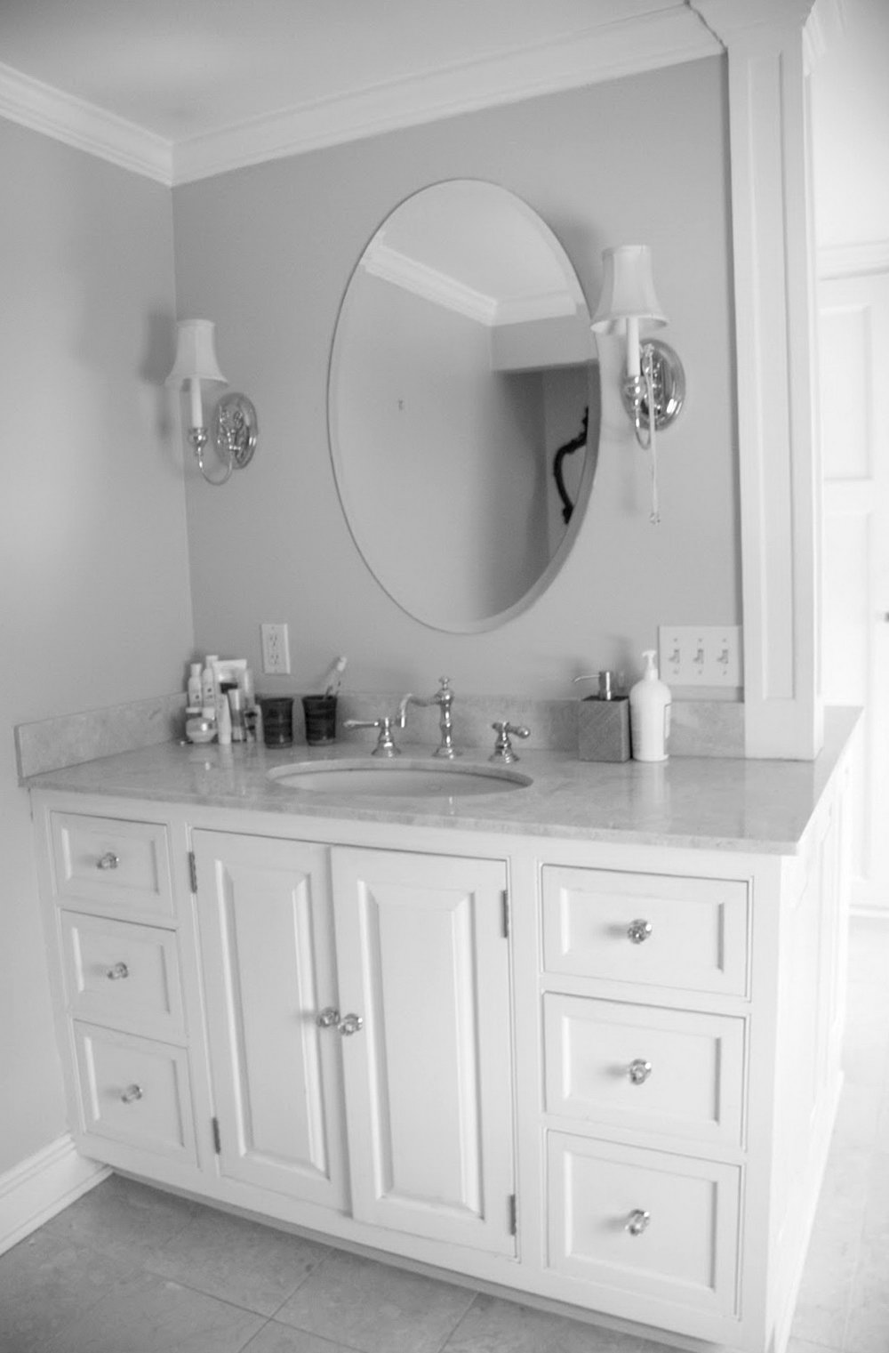 Oval Vanity Mirror For Bathroom