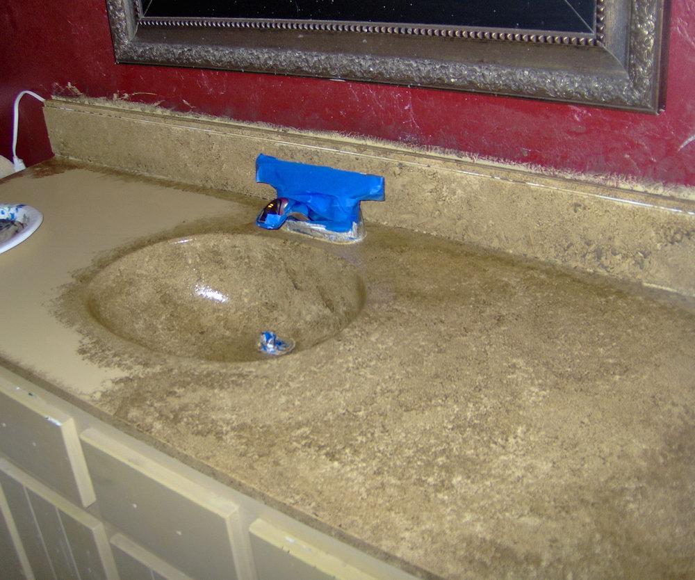 Paint Bathroom Vanity Top