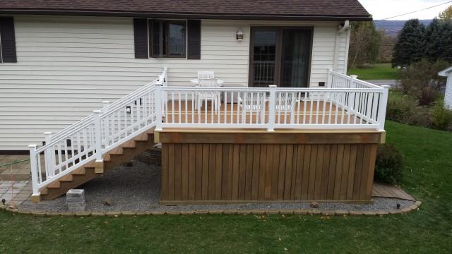 Porch Railing Installation Video