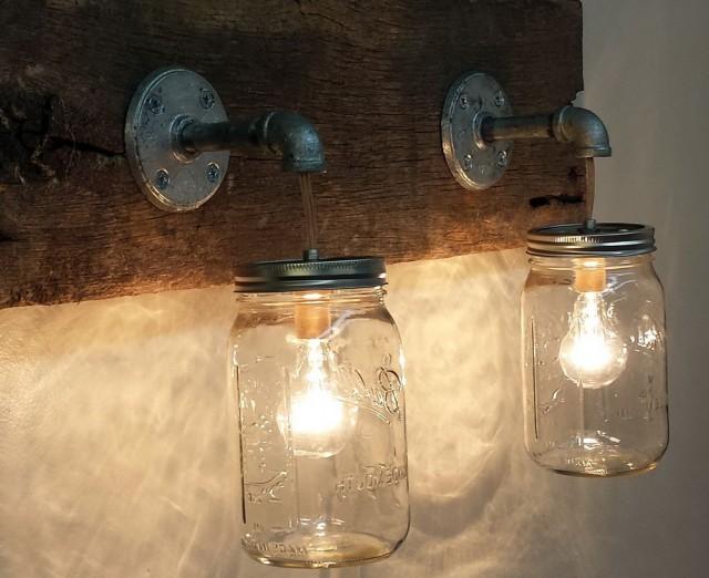 Rustic Vanity Lighting Fixtures