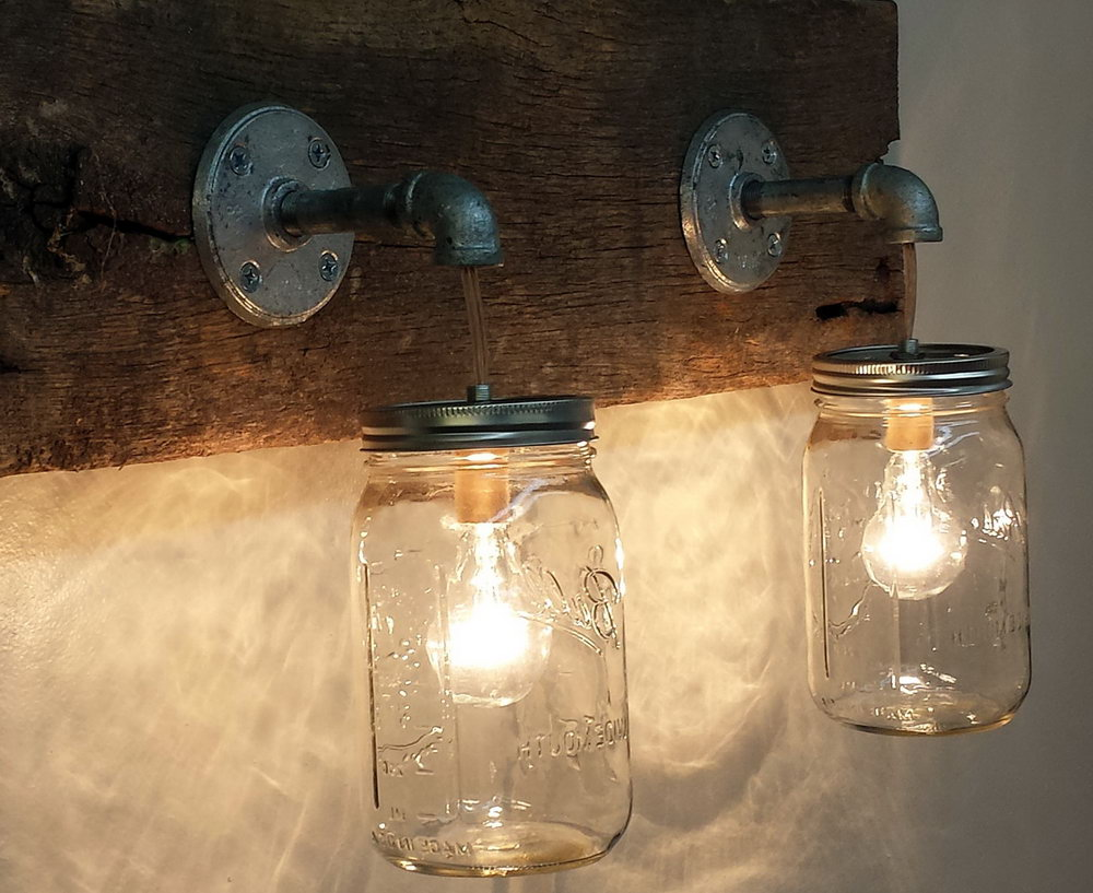 Rustic Vanity Lighting Fixtures