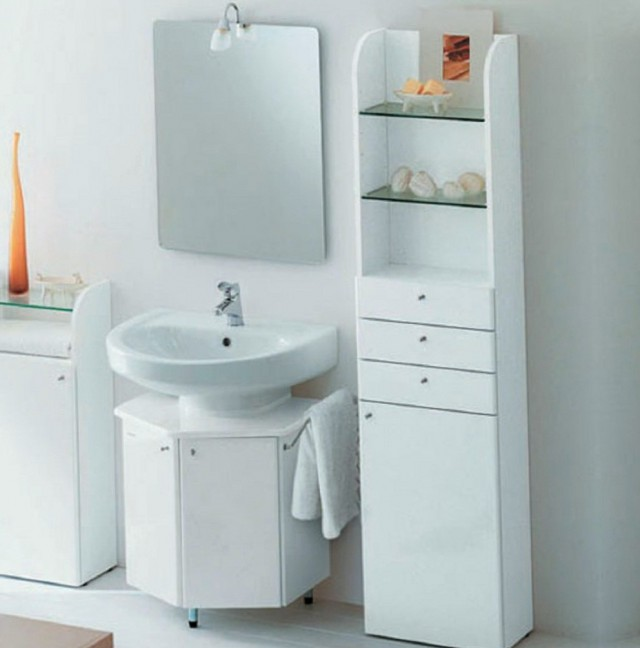 Small Bathroom Vanity With Storage