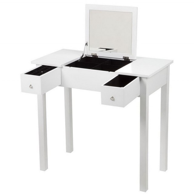 Vanity Table With Storage