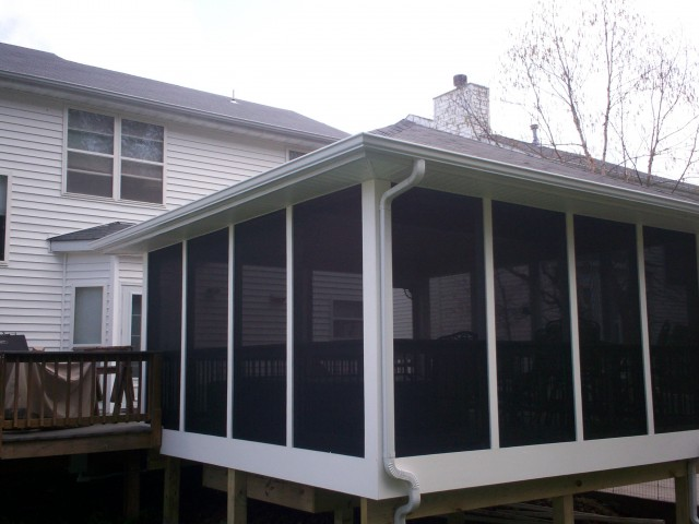 Vinyl Screen Porch Windows