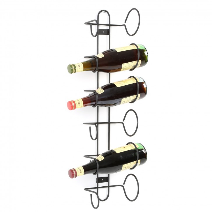 Permalink to 6 Bottle Wine Rack Wall Mount