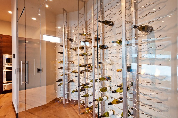 Permalink to All Glass Wine Cellar