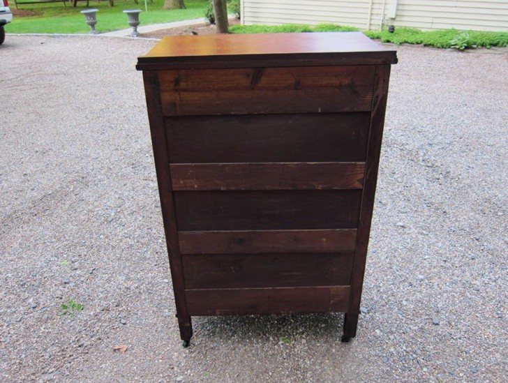 Permalink to Antique Tall Boy Dresser