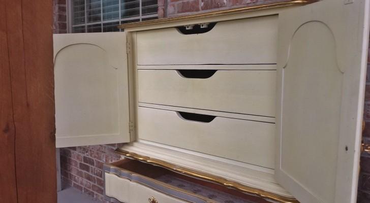 Permalink to Antique White Dresser Canada