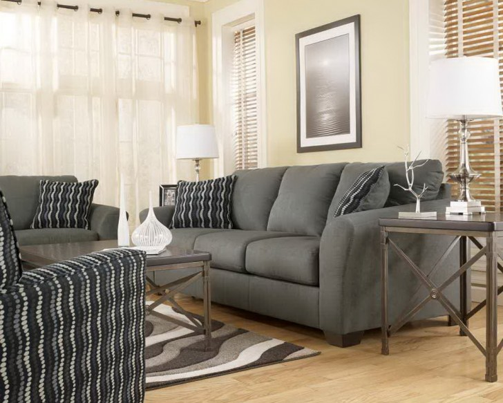 Permalink to Ashley Lucia Sofa Chaise