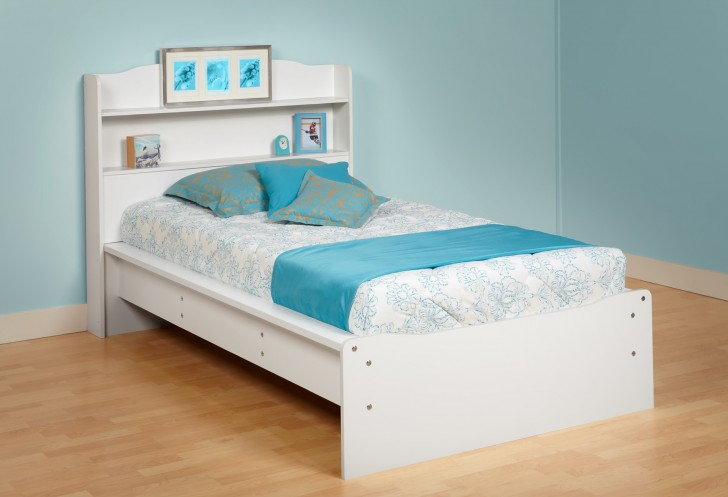Permalink to Bed With Headboard Shelf
