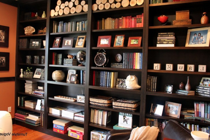 Permalink to Bookshelf Decorating Ideas Tips