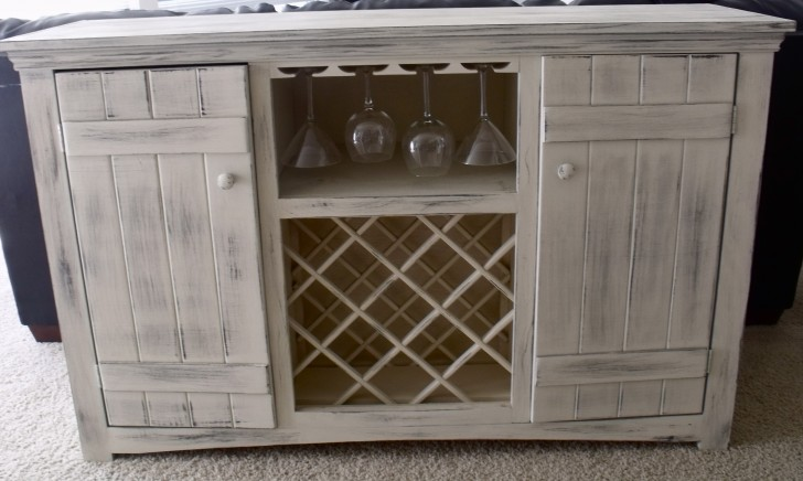 Permalink to Buffet With Wine Rack Furniture