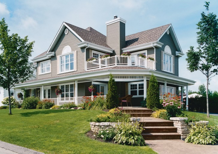 Permalink to Country Home Designs With Wrap Around Porch