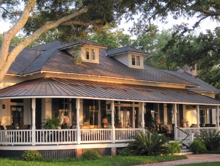 Permalink to Country Home With Wrap Around Porch Plans