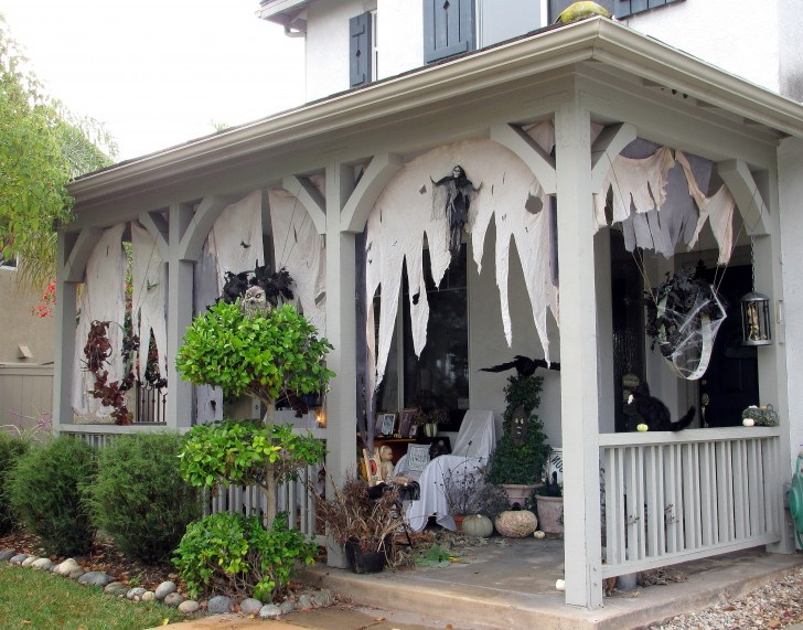 Permalink to Diy Halloween Front Porch Ideas