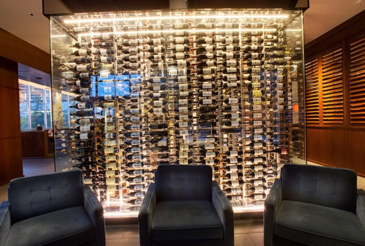 Permalink to Glass Wine Cellar Wall