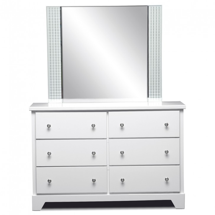 Permalink to Kids White Dresser With Mirror