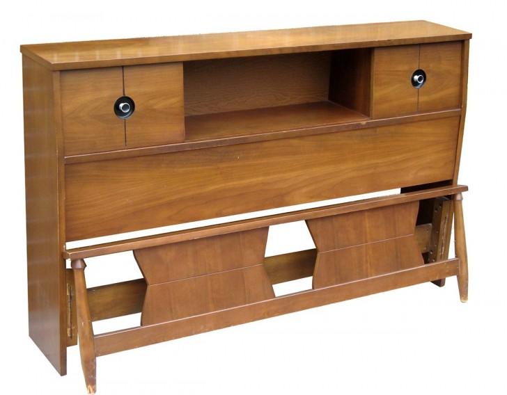 Permalink to Mid Century Modern Bookcase Headboard