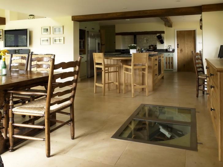 Permalink to Spiral Staircase Wine Cellar In Kitchen