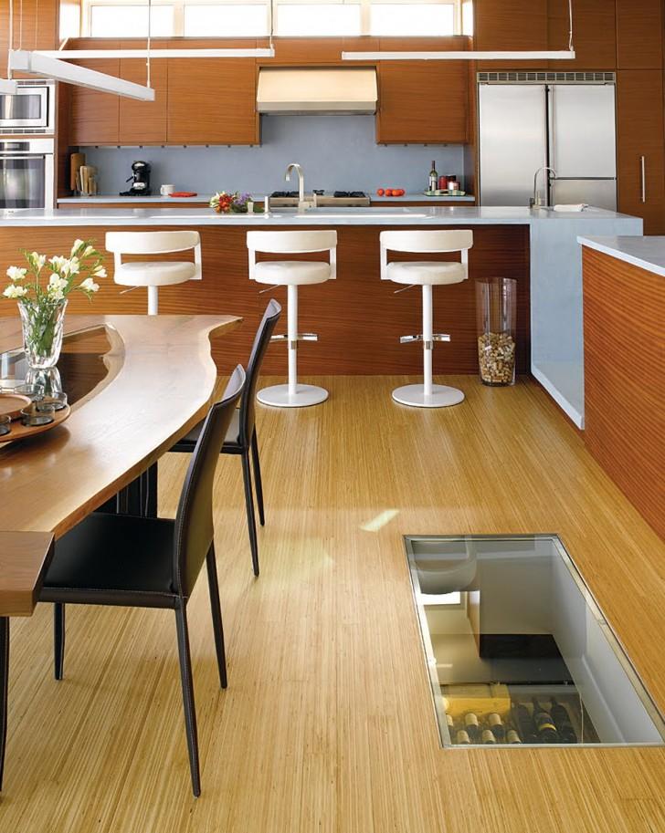 Permalink to Spiral Wine Cellar In Kitchen Floor