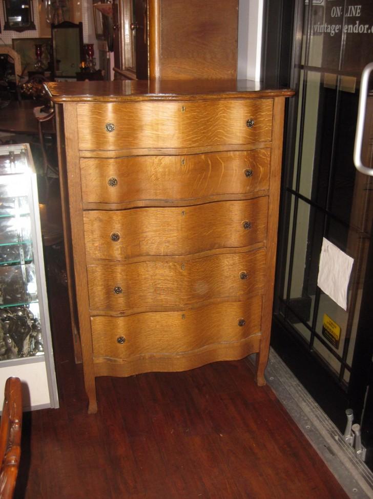 Permalink to Vintage Tall Boy Dresser