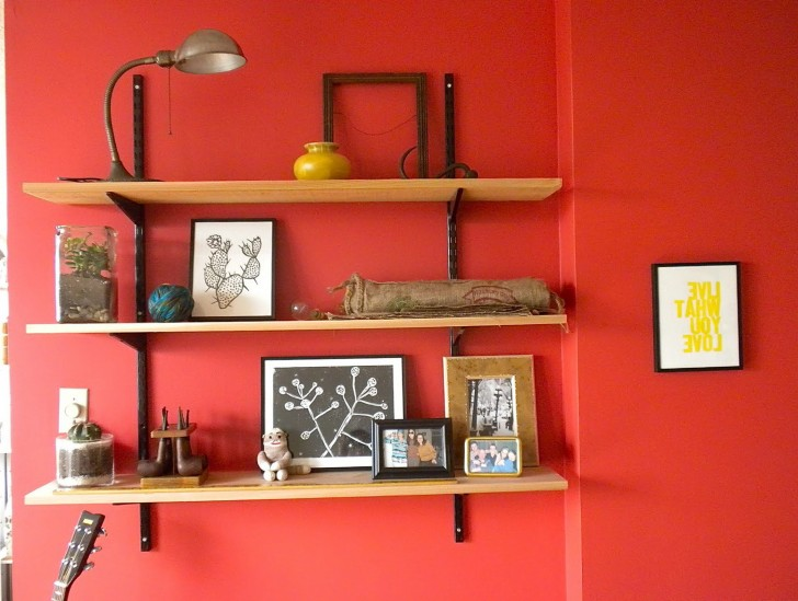 Permalink to Wall Mounted Bookshelves Home Depot