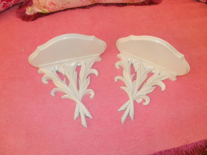 Permalink to White Wall Sconce Shelf