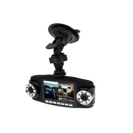 Double Caméra embarquée HD 720P boite noire vision nocturne dash cam