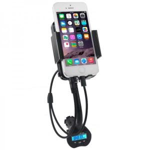 Transmetteur FM, pour écouter la musique de votre smartphone directement sur votre autoradio