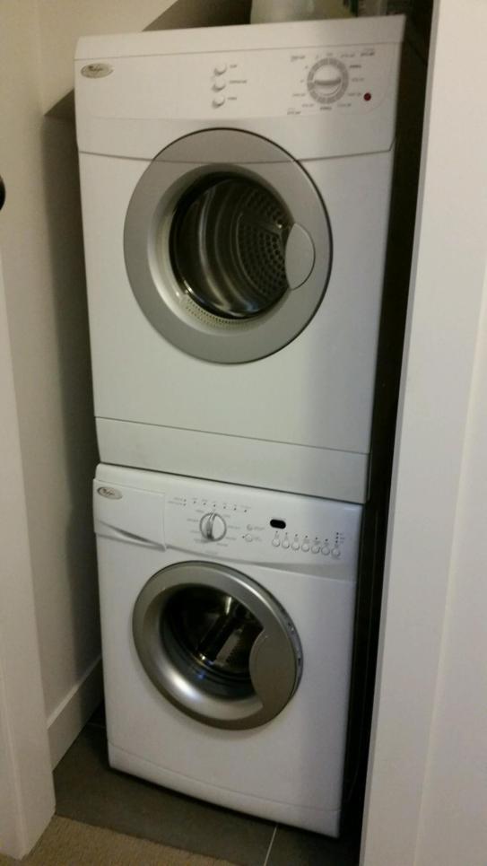 Satish's ADU Stacked Washer-Dryer
