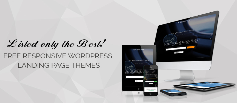 15 Best Free Responsive Wordpress Landing Page Themes For 2019