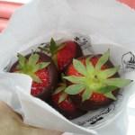 Strawberries in Brugge
