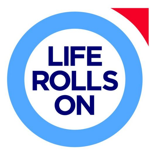 life rolls on foundation logo