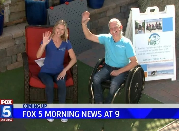 Access Trax Featured on Fox 5 San Diego News