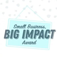 Logo for Small Business, Big Impact Award