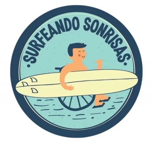 Surfeando Sonrisas Logo