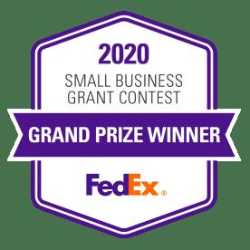 Logo: 2020 FedEx Small Business Grant Contest Grand Prize Winner