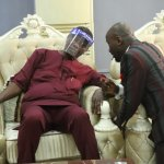 APOSTLE SULEMAN GREETS RCCG'S PASTOR ADEBOYE AT 40, AS OFM MARK'S 17.